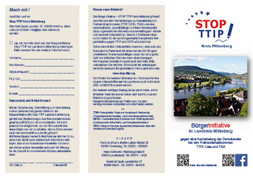 TTIP Flyer