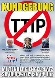 TTIP Plakat Miltenberg