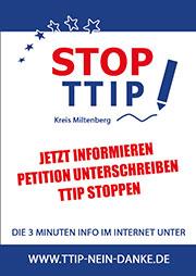 STOP TTIP Flyer